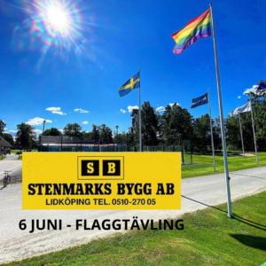 Stenmarks Byggs Flaggtävling - Resultat