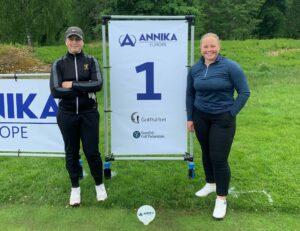 Moa och Wilma spelar Annika Invitational Europe