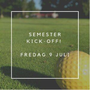 Semester Kick-Off! - Resultat